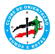 Logotipo clube de orientacao rumos e rotas